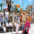 Miami: Balloon art at The Miami Heat 2006 NBA Championship Celebration