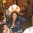 Fisher Island, Miami Beach, Denyce Graves, her daughter at her party