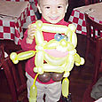 Miami, Coral Gables, Coconut Grove: Tourists must call balloon art entertainment at dinner time.