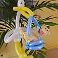 Miami: Coral Gables, Coconut Grove, Balloon Art for Baby Shower