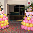 Miami, Parrot Jungle: Large balloon art sculptures as event decor & party entertainment
