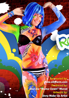 Body Paint Miami, Body Painting Miami, Body Painting models Miami, South Florida