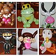 Miami, Coral Gables tourists, call a balloon artist for souvenirs family entertainment, lunch dinner