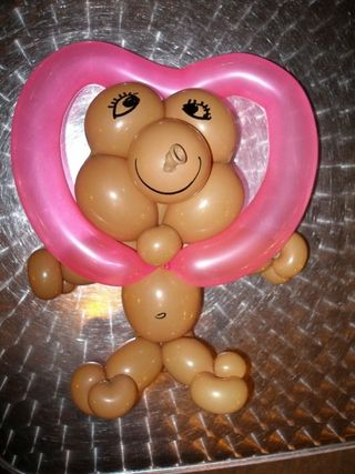 5Bear Heart -Miami-Balloon Art