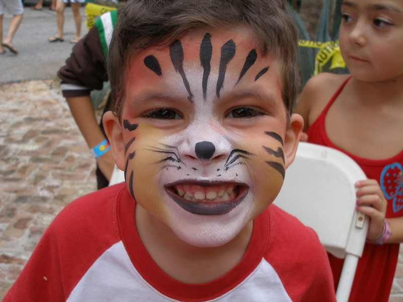 Real tigerMiami_Facepainting