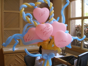 By Irina: Balloons: Balloon Bouquets, Balloon Flower Delivery in