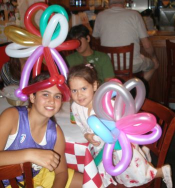 Balloon Art at Archies